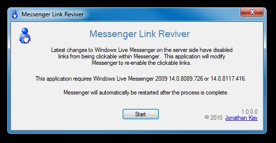 zap messenger 2009