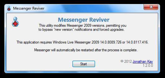 messenger reviver 1.2