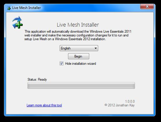Live Mesh Installer