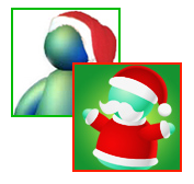 Messenger Santas