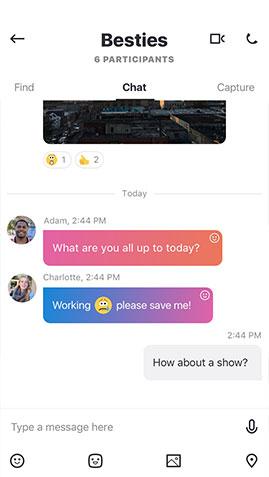 New Skype Conversation