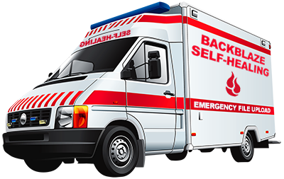 Backblaze self-healing ambulance